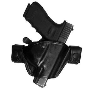 Bianchi Model 84 SnapLok Holster, Beretta 92FS, 96FS, 92D, Right Hand, Plain Black