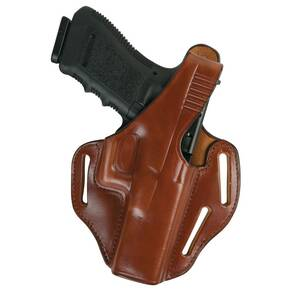 "Bianchi Model 77 Piranha Pancake-Style Holster, S&W 36, J Frame 2"", Right Hand, Plain Tan"