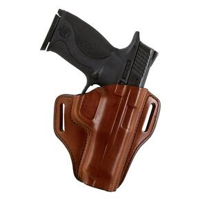 Bianchi Model 57 Remedy Open-Top Holster, Colt Gov't 1911, Right Hand, Plain Tan