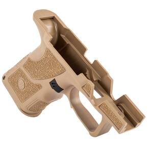 Zev OZ9 Shorty Size Grip Kit, FDE