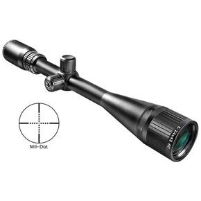 Barska Varmint Series Rifle Scope - 6-24x42mm AO Mil-Dot Reticle Matte Black
