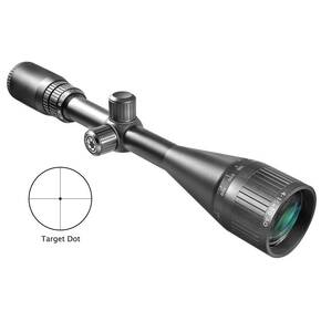 "Barska Varmint Series AO Rifle Scope - 6.5-20x50mm AO Target Dot 16-5.7' 3.6"" Matte"