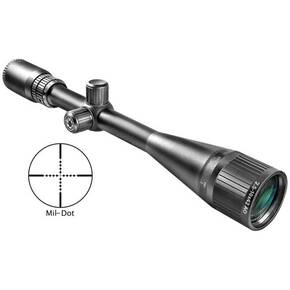 Barska Varmint Series AO Rifle Scope - 2.5-10x42mm AO Mil-Dot Matte