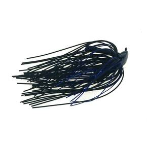Buckeye Lures Mop Flipping Jig Lure 3/8 oz - Black/Blue