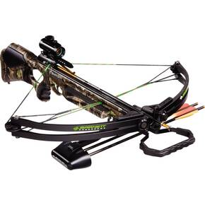 Barnett Wildcat C5 Crossbow Package with 4x32 Multi-Reticle Scope, Camo