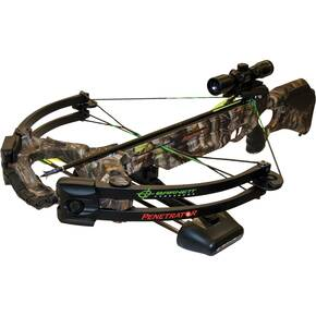 Barnett Penetrator Crossbow with Cross 4x32 Illuminated Scope - HD Camo