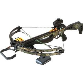 "Barnett Jackal Crossbow with Premium Red Dot Sight and 7/8"" Picatinny Rail - HD Camo"