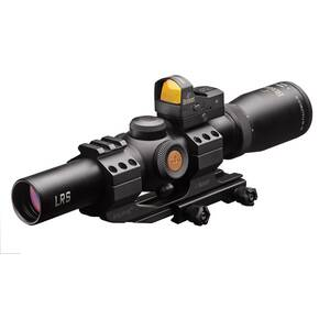 Burris Fullfield TAC30 Tactical Rifle Scope w/FastFire & Mount - 1-4x24mm Ballistic CQ 5.56 Reticle Matte