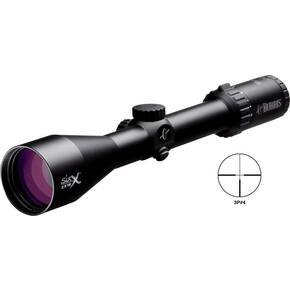"REFURBISHED Burris Six X Rifle Scope - 2-12x50mm 30mm 50-8.5' FOV 3.5-4.0"" ER German 4 Reticle Matte"