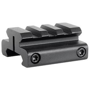 "Burris 1-Piece 1/2"" Picatinny Riser Mount - Matte Black"