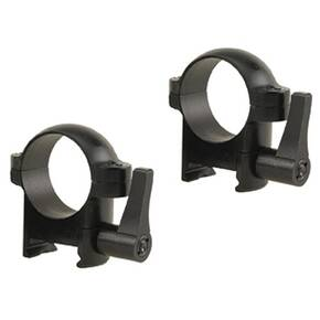 "Burris 1"" Zee Quick Detach Rings (Weaver Style) 1"" Medium Matte"