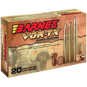 Barnes VOR-TX Safari Rifle .416 Rigby 400 gr Banded Solid RN 2400 fps - 20/box