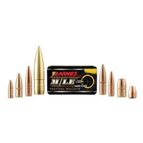 "Barnes M/LE TAC-X Rifle Bullets 6.8mm .277"" 85 gr FB 50/ct"
