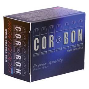 Corbon Self-Defense JHP Handgun Ammunition 10mm Auto 165 gr JHP 1250 fps 20/box