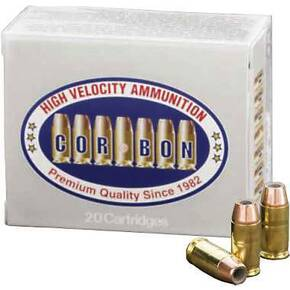 Corbon Self-Defense JHP Handgun Ammunition .380 ACP 90 gr JHP 1050 fps 20/box