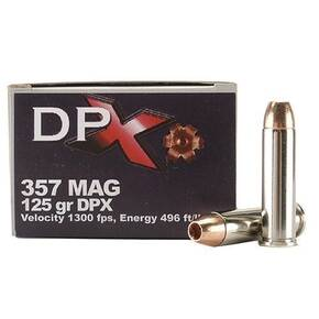COR-BON Handgun Ammunition .357 Mag 125 gr DPX 1300 fps 20/box