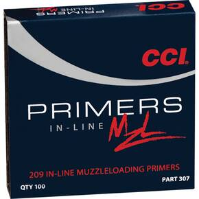 CCI 209 In-Line Muzzleloader Primers 100/ct
