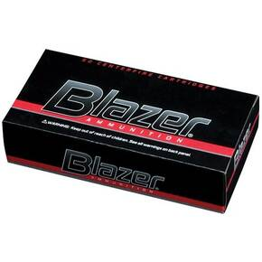 CCI Blazer Aluminum Handgun Ammunition 10mm Auto 200 gr FMJ 1050 fps 50/box
