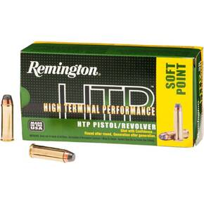 Remington HTP Handgun Ammunition .40 S&W 180 gr JHP  50/box