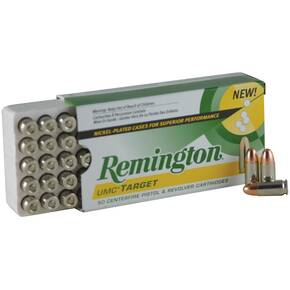 Remington Target Handgun Ammunition .357 Mag  LSWC  50/box