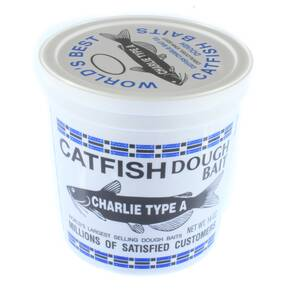 Catfish Charlie Original CCA Catfish Dough Bait 14 oz - Type A Blood