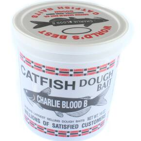 Catfish Charlie Catfish Dough Bait 14 oz - Type B Blood