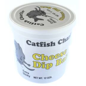Catfish Charlie Dough Balls Wildcat Catfish Lure 14 oz - Cheese