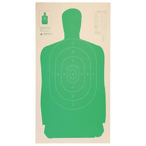 "Champion LE Targets Cardboard Silhouette Target - 24"" X 45"", Green, 25/Pack"