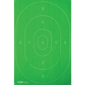 "Champion LE Targets Repair Center - 12.5"" x 18.5"", Green, 100/Pack"