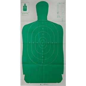 "Champion LE Targets Silhouette Target - 24"" X 45"", Green, 10/Pack"