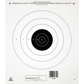Champion Official NRA Targets GB-2, 50 yd., Timed and Rapid Fire, 12/Pack