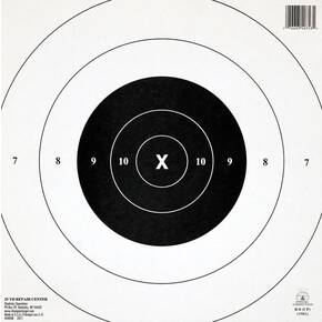 Champion Official NRA Targets GB-8(CP), 25 yd., Timed and Rapid Fire, 12/Pack