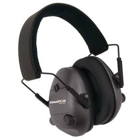 Champion Electronic Ear Muffs - Black