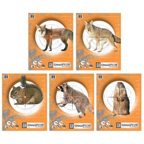 "Champion Critter Series Targets - 11"" X 14"", 10/Pack"