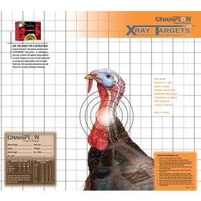 "Champion X-Ray Paper Targets Turkey Target 18.75""x16.75"" (6-Pack)"