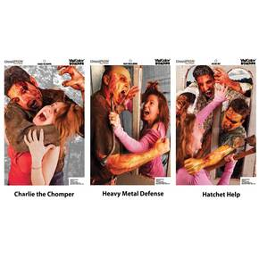 Champion VisiColor Zombie Variety Pack Targets (6-Pack)