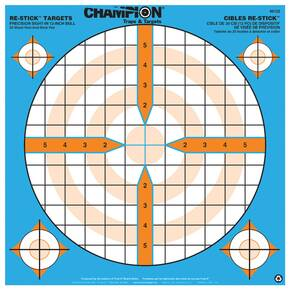 "Champion ReStick Targets Precision Sight-In 12"" Bull, 14.5"" X 14.5"""