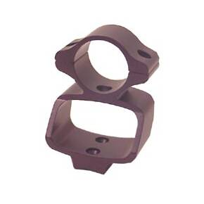 Custom Quality Products See-Thru Muzzleloader Ringmounts - Knight MK85, Knight BK92, Matte