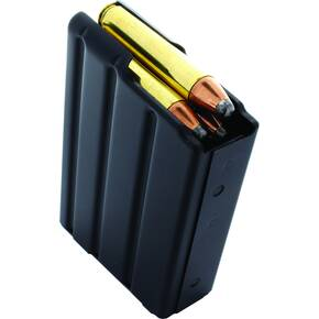 Duramag Stainless Steel Magazine w/Orange Follower .350 Legend 10rd Black