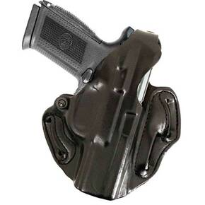 "DeSantis Style 001 Thumb Break Scabbard S&W K Frame 3"" Black Right Hand"