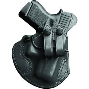 #028 COZY PARTNER PLN BLK LEATHER RH FOR S&W M&P SHIELD M2.0 W/INT LASER