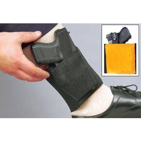 DeSantis for Glock 26, 27 Apache Ankle Rig-Style 062, Left Hand, Black