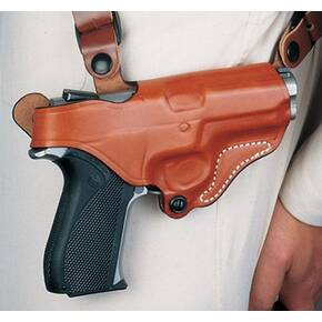 DeSantis Taurus Judge Public Defender Polymer New York Undercover Holster Only, Right Hand, Tan
