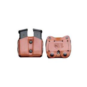 Desantis Double Magazine Pouch for Glock 43 Tan