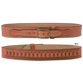 DeSantis Size 34 w/20rd .45LC Cartridge Loops Desperado Gun Belt-Style B37, Tan