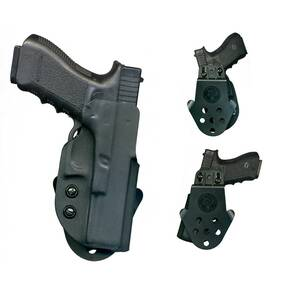 DeSantis H&K USP CPT 9/40 DS Paddle Holster-Style D94, Right Hand, Black