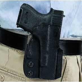 PADDLE HOLSTER KYDEX BLK RH FOR SIG P238, P238 EQUINOX,SPRINGFIELD 911