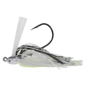 Dirty Jigs Swim Jig Lure 1/4 oz - ChartreuseShad