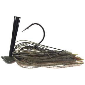 DIrty Jigs Tour Level Pitchin' Jig Lure 3/8 oz - Green Pumpkin Craw