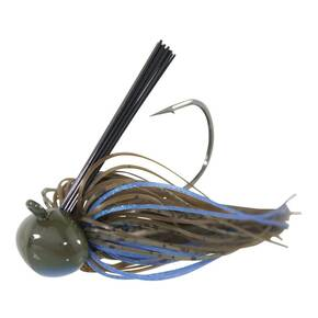DIrty Jigs Tour Level Skirted Football Jig Lure 3/4 oz - Pond Bug